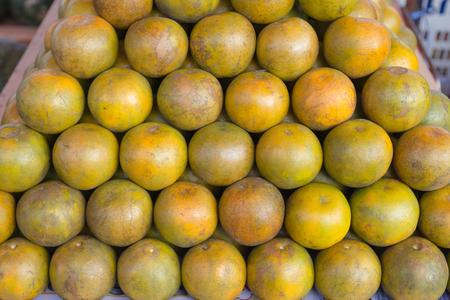 the freshness: group freshness oranges in market