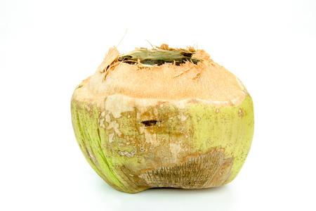 husks: Coconut husks on background