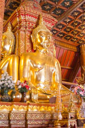 GLOD: Glod buddha statue Phumin temple, Nan province,Thailand