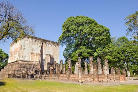 sukhothai: Sukhothai historical park, Sukhothai, Thailand. Stock Photo