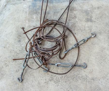 a loop: sling loop with hook