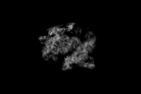 paranormal: Textured Smoke,Abstract black,isolated on black background