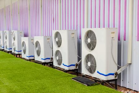 compresor: unidad de compresor del acondicionador de aire
