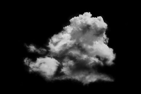 black textured background: Textured cloud,Abstract black,isolated on black background Stock Photo