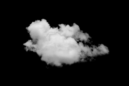 Cloud isolated on black background,Textured Smoke,Brush clouds,Abstract black
