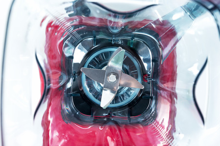 Closeup blades for blender