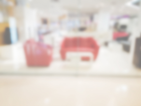 article of furniture: Shopping mall blur background of Illustration,Abstract Blurred