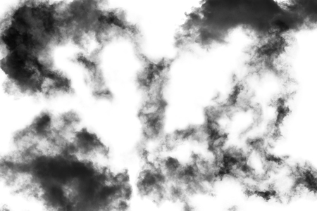 auras: Cloud Isolated on white background,Textured Smoke,Brush Clouds,Abstract black