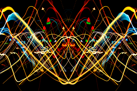Night light line,abstract background Imagens