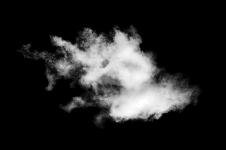 paranormal: Cloud isolated on black background,Textured Smoke,Brush clouds,Abstract black