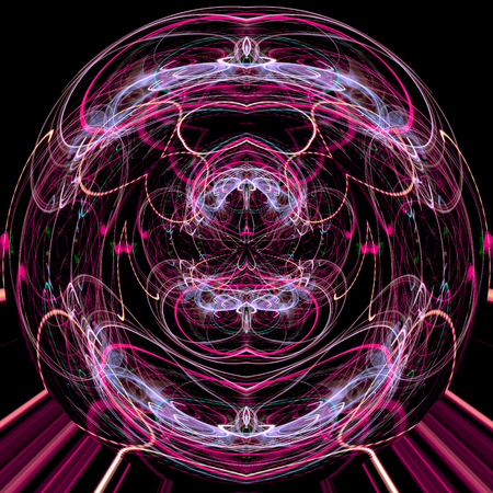 bounce: Night light line,light pattern,abstract background