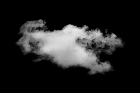 Cloud isolated on black background,Textured Smoke,Abstract black