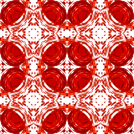 seamless closeup red drops,Abstract pattern