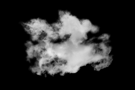 condensation: Cloud isolated on black background,Textured Smoke,Abstract black