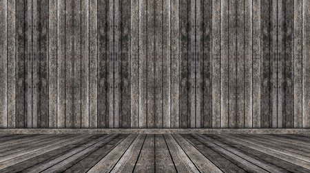 Brown wall and floor room wood background