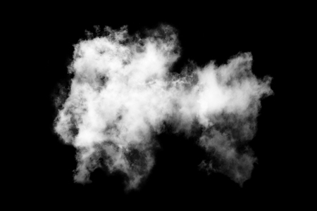 isolated white cloud on black background,Textured Smoke,Abstract black Stock Photo