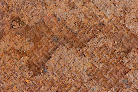 Rust steel plate slip background Stock Photo
