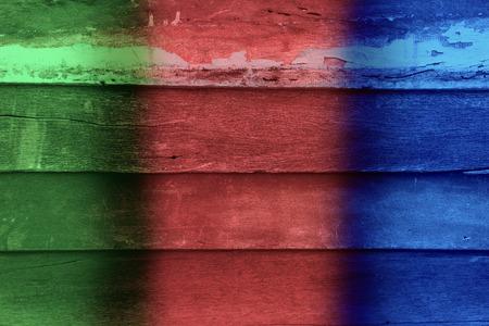 multi coloured  wood backgrounds Stock Photo