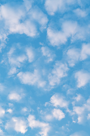 White cloud and blue sky background Stock Photo