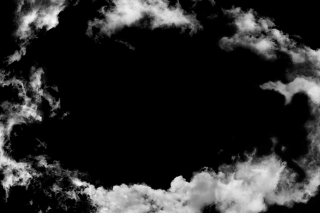 sky with black and white cloud textured background