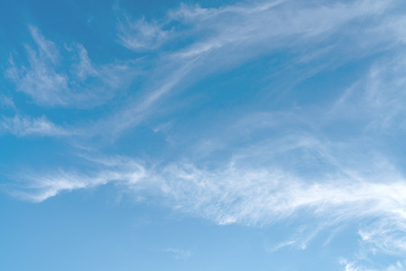 White cloud and blue sky background 스톡 콘텐츠