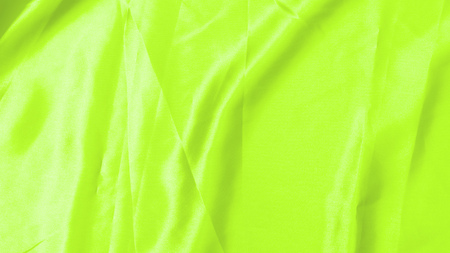 UFO green satin fabric texture soft blur background