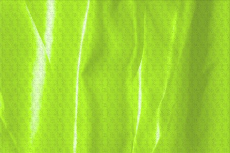 green satin fabric texture soft blur with palm leaves pattern background