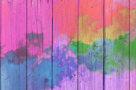 Abstract colorful pastel with gradient multicolor toned textured  on wood background, ideas graphic design for web design or banner Stock Photo