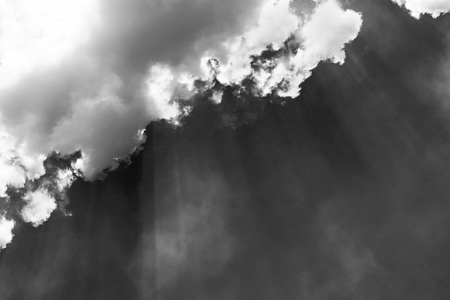 white cloud and black sky textured background Stock Photo - 118542493
