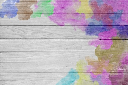 Abstract colorful pastel with gradient multicolor toned textured on gray wood background, ideas graphic design for web or banner Stock Photo - 118542827