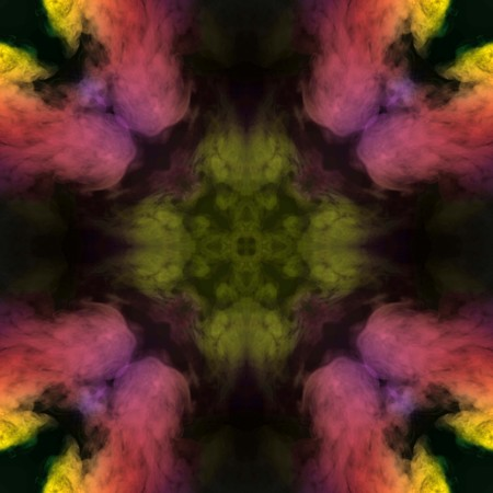 Abstract colorful smoke isolated on black background,Rainbow powder,seamless light pattern Stock Photo - 118542830
