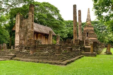 Si Satchanalai National Historica Park inThailand