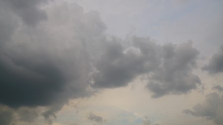 grey storm rain clouds or nimbus on sky Reklamní fotografie