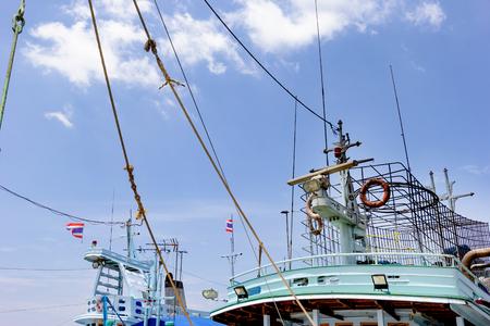 radar on fishing boat