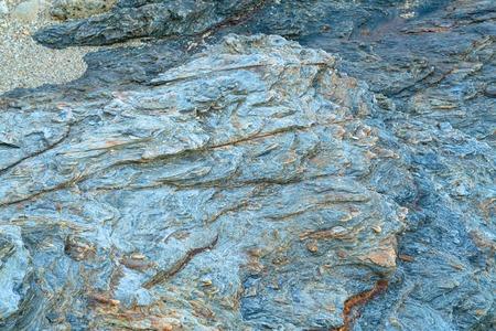 closeup colorful igneous rock background Stock Photo