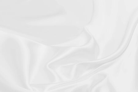 white satin fabric texture soft blur background