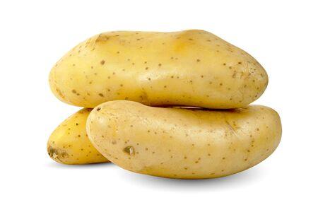 potatoes isolated on white background Reklamní fotografie