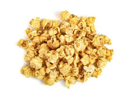 Popcorn isolated on white background Archivio Fotografico