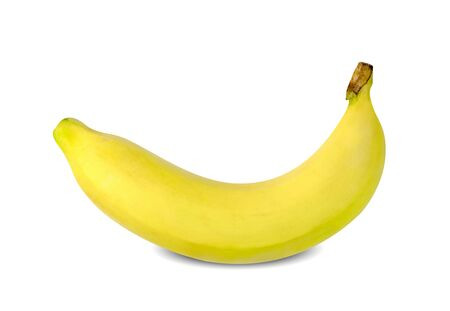 ripe banana  on white background ,