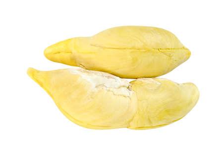 durian fruit isolated on white background ,Thai fruit