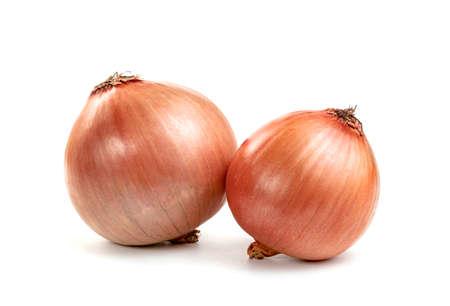 Fresh Onion isolated on white background Imagens