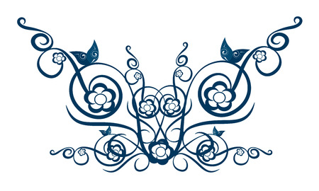 whorls: Ornaments wall and textile