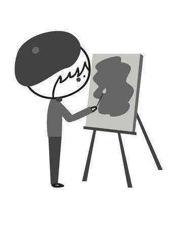 kid illustration: Doodle Painter