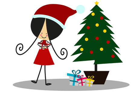 christmas gifts: Doodle gifts at Christmas - Full Color