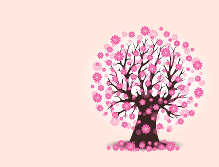 29,483 Blossom Tree Stock Vector Illustration And Royalty Free ...