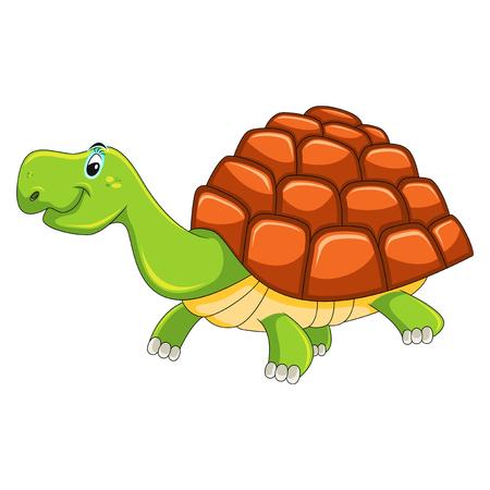 Turtle cartoon vector ilustration 向量圖像