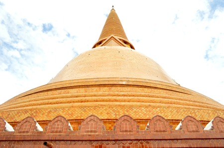 nakhon pathom: Phra Pathom Chedi,  upside down bell shaped pagoda, Nakhon Pathom