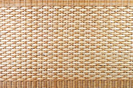 Traditional Thai wicker basket texture photo