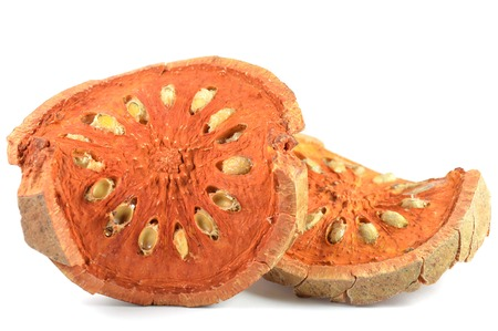 dicot: Dry bael fruit, Aegle marmelos, Central of Thailand