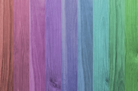 Colorful wood panels texture background photo